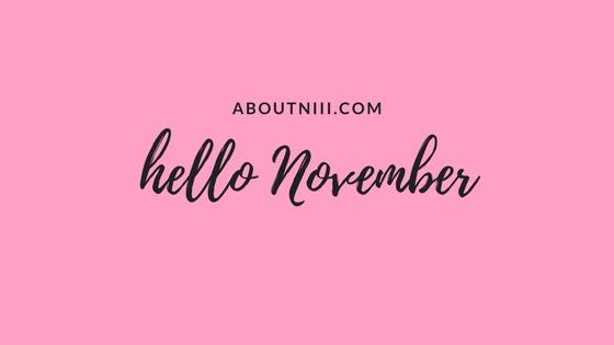 Chapter 11 –November