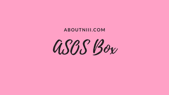 Unboxing ASOS Box