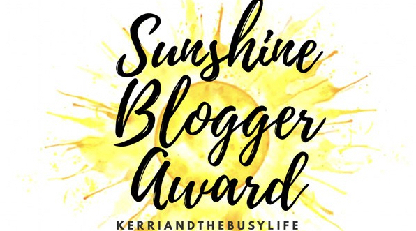 Sunshine Blogger Award☀️