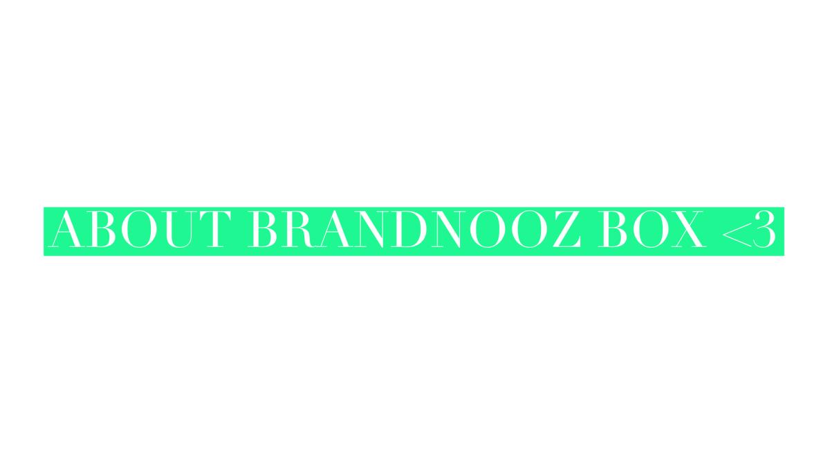 Unboxing Brandnooz BoxAugust
